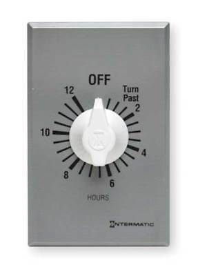INTERMATIC FF12H Timer,Spring Wound