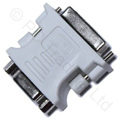 DVI Male to VGA 15 Pin Female Video Card Adapter Convertor Monitor LCD