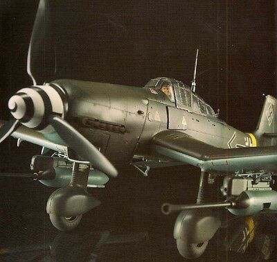 1/32 SCALE AIRCRAFT Bf-109G FW-190D Me-410 He-162 Air Modeling Manual #4 Book