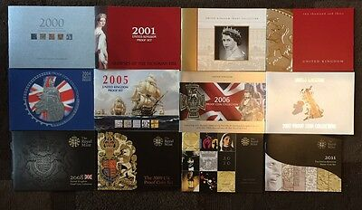 1983 - 2014 Royal Mint Proof Set Certificate Of Authenticity Documents Coa