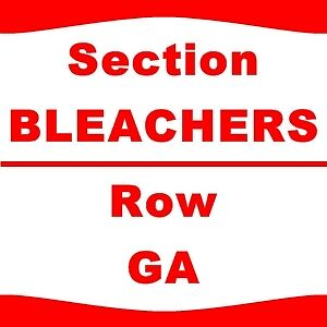 4 TIX New Kids On The Block TLC & Nelly 5/23 Allstate Arena Sect-110