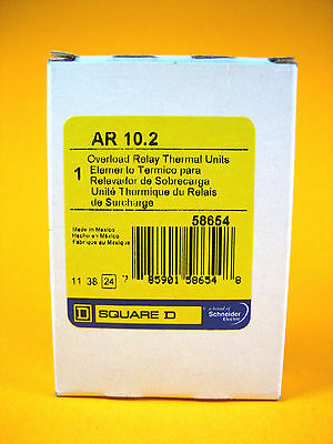 Square D  AR10.2  Overload Relay Thermal Unit