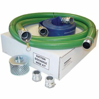 """Honda 2"""" Water Pump Hose Kit w/ Quick-Connect Couplers"""