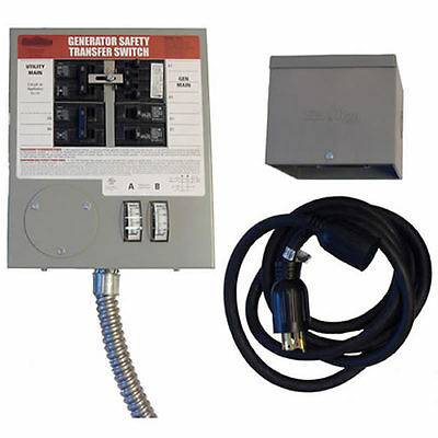 Honda 30-Amp Power Transfer Switch System (6 Circuits)