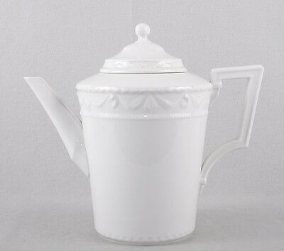 KPM Berlin Kurland White Coffee Pot 22cm