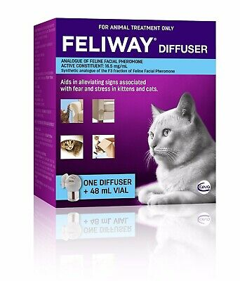 Feliway for Cats Diffuser Set - Constant Calming and Comfort for Cats