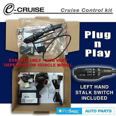 Cruise Control Kit Holden Rodeo alloytec V6 2007-2012(With LH Stalk control swit