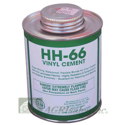 HH-66 Vinyl Repair Cement - 1 Pint (16 oz)  - Paint Ball Obstacle & Tarp Repair