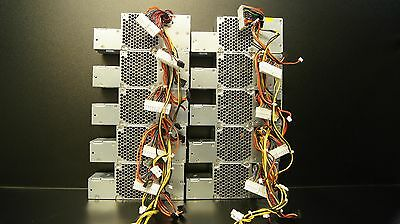 Lot of 10 Dell Optiplex 740 745 755 275W Power Supply RW739 KH620 D275P N275P