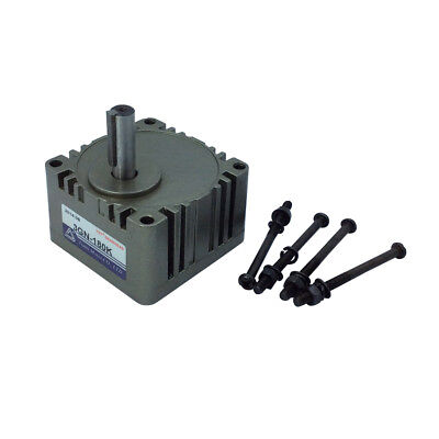 """Metal GearBox 3GN-7.5K Speed Reducer Ratio 7.5/1 with 10mm/0.39"""" Shaft"""