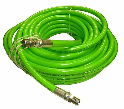 """1/2"""" x 100' Sewer Jetter Hose 4,000 PSI Green (SOLxSWV)"""
