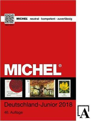MICHEL JUNIOR 2018 Deutschland Katalog ersch.8.12.2017 catalogue