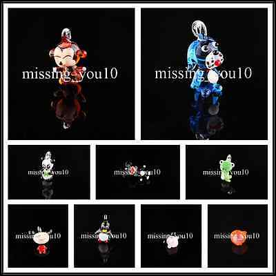 1PCS Lovely Animal Delicacy Murano Glass Bead Lampwork Pendnat FIt Necklace FREE