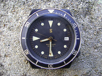 ultra rare scubapro diver by breitling