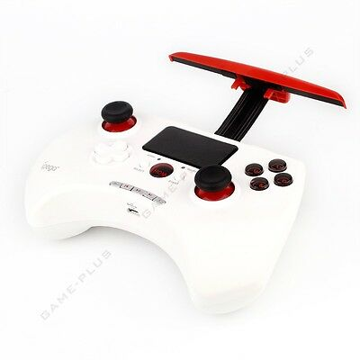 iPega Touch Wireless Bluetooth Game Controller Joystick For Android IOS PC White
