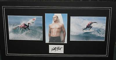 KELLY SLATER signed Collage (SURFING)
