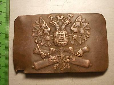 VERY good conditions ! RARE Original Russian Military Buckle Artillery -1917!!!