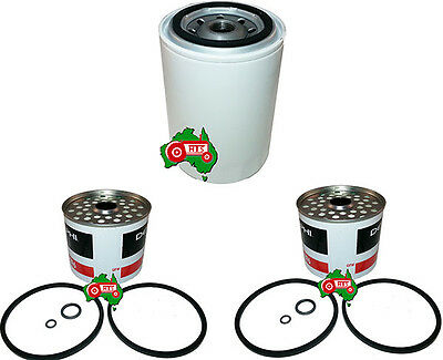 Ford Tractor Oil Fuel Filter Kit 2000 3000 4000 5000 7000