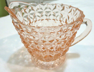 Pink Depression Glass Holiday Depression Glass Jeanette Glass Creamer