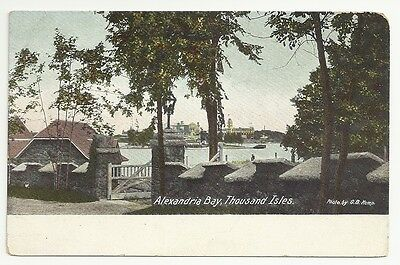 Alexandria Bay Thousand Isles New York Posted 1908 Vintage Postcard