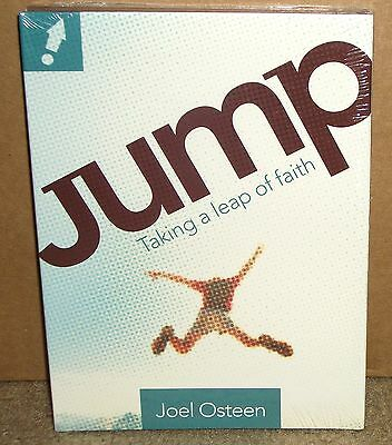 Jump Taking a Leap of Faith by Joel Osteen (2 CD + DVD) NEW