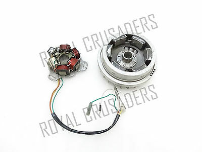 New Lambretta Gp 200 Flywheel/magneto Stator Assembly Sil