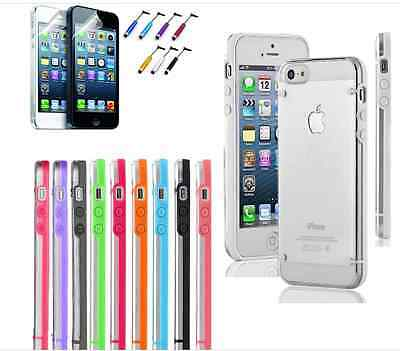 On Sale: iPhone 5 / 5S Ultra Thin Transparent Crystal Clear Hard TPU Case Cover