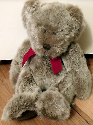 Adorable~Russ~Plush Brownish-White TEDDY ~ So Cute & Cuddly!~Very Good Condition