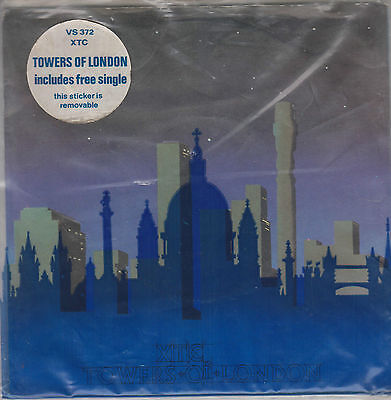 "XTC - Towers Of London - Original 1980 UK limited edition 7"" vinyl doublepack"