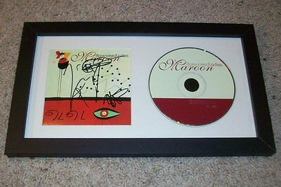 BARENAKED LADIES SIGNED MAROON FRAMED & MATTED CD w/PROOF AUTOGRAPH BNL