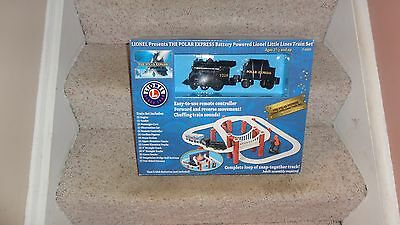 Lionel The Polar Express Little Lines Battery Powered Train Set New In Box