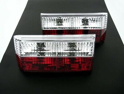 VW Golf MK1 1 Cabriolet Red Clear Rear Tail Lights Lamp GTI Convertible 74-93