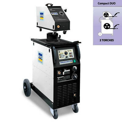NEW GYS 350 Separates Pack - Heavy Duty Synergic MIG Welder