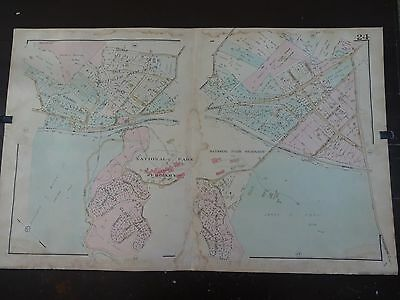 1931 Map of Wheaton, Maryland/Forest Glen Area - Rare, large detailed map