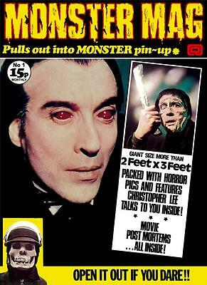 Monster Mag #1 - new remastered edition of the 1973 classic!