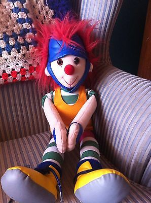 """Big Comfy Couch Major Bedhead Mailman 22"""" All Soft Doll"""