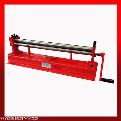 WNS Top Slip Bench Bending Rolls / Rollers 660mm x 32mm x 0.8mm Tube Rolling