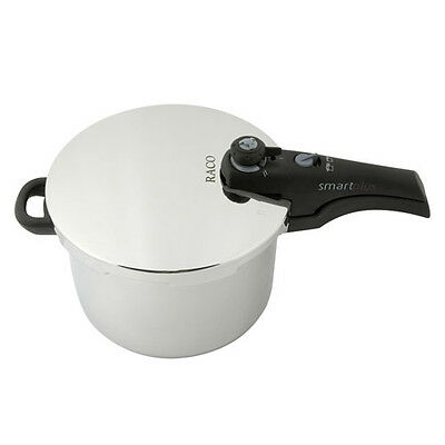 NEW RACO PRESSURE COOKER S/S 6LT