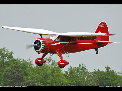 1/4 Scale Stinson Reliant SR-9  125 INCH RC Model AIrplane Printed Plans
