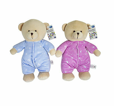 """Special Offer, Baby's Plush 14"""" Tall Teddy Bear With Rattle."""