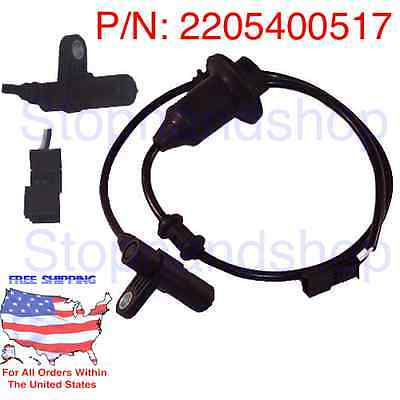 New ABS Wheel Speed Sensor for Mercedes Benz W220 C215 S CL Class Full Set 4 pcs