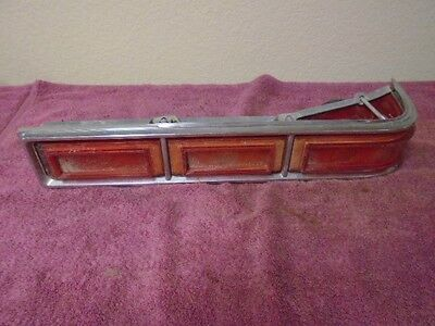1966 Chevy Impala left rear tail light taillight housing GM 5957715 4961 driver