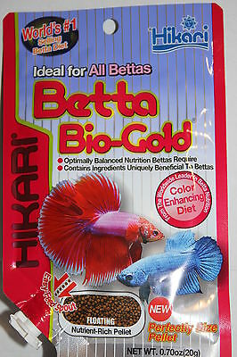 Hikari Betta Bio Gold 20g for Siamese Fighters - easy feed spout