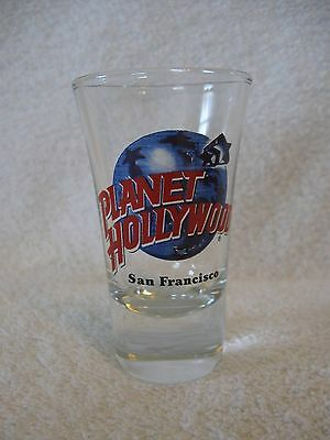 Planet Hollywood San Francisco Cordial Shot Glass Jigger Shooter Chaser