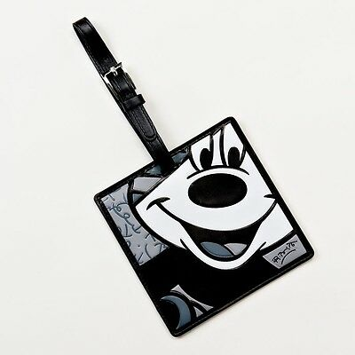 Britto Disney luggage tag DSBRT  4024513 Mickey Mouse  b/w travel character