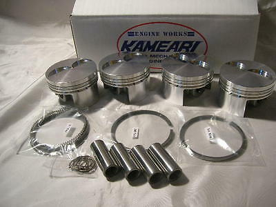 DATSUN 1200 High Performance A15 79mm Forged Piston Kit 1600cc (Fits NISSAN A15)