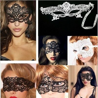 Venetian Filigree Masquerade Ball Mask Creepy Scary Party Fancy Dress Halloween