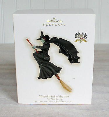 Hallmark The Wizard of Oz 2009 Wicked Witch of the West Keepsake Ornament