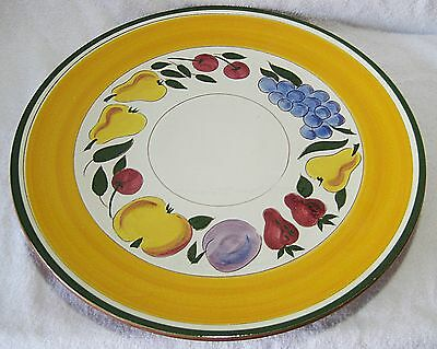 STANGL FESTIVAL CHOP PLATE - 14 INCHES - RARE ITEM