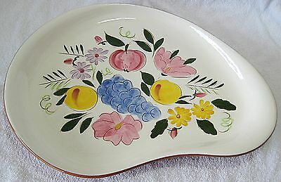 STANGL FRUIT AND FLOWERS CASUAL PLATTER